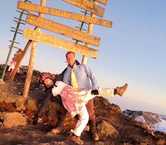 Climbing Mount Kilimanjaro and Becoming a Lion Sister