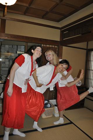 Becoming Geishas: A Japanese Makeover