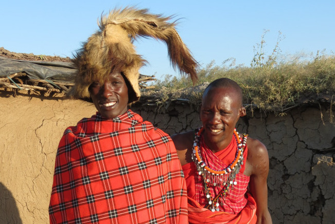 A Day with a Maasai Warrior: Drinking Blood and Marrying Many
