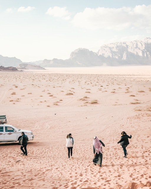 On the Edge of the Sublime in Wadi Rum, Jordan.