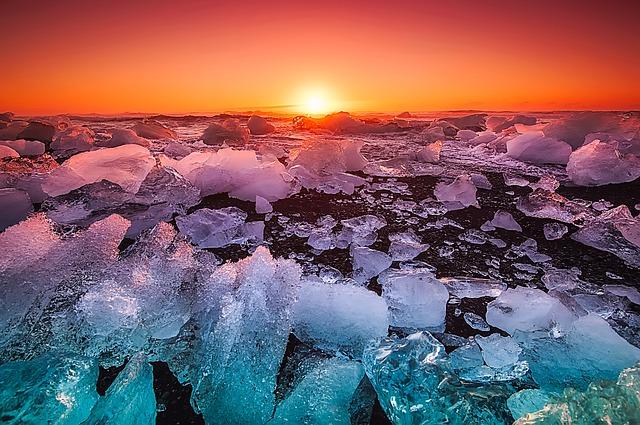 Under the Midnight Sun of Iceland