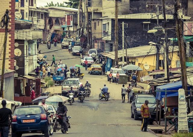 Travelers in Cameroon